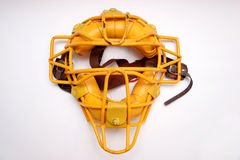 Catcher mask Stock Photo