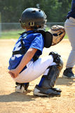 Catcher Position Royalty Free Stock Images