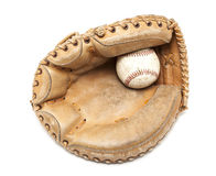 Catchers Glove Royalty Free Stock Images