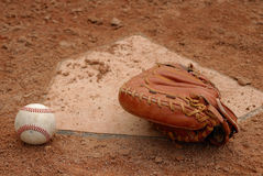 Catchers Mitt Stock Photography