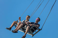 Catching Airtime Stock Image