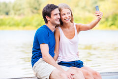 Catching great moments of life. Royalty Free Stock Image