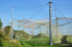 Catching nets Vente Cape Lithuania. Birds catching nets in vente cape ornithological station in lithuania stock photos