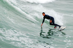 Catching a Wave royalty free stock photo