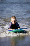 Catching the waves Royalty Free Stock Photography