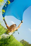 Catching wind Royalty Free Stock Photography