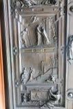 Cate базилики St Peter, Ватикана Стоковые Фото