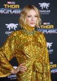 Cate Blanchett 免版税库存图片