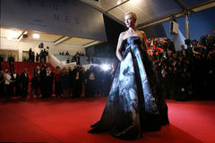 Cate Blanchett Imágenes de archivo libres de regalías