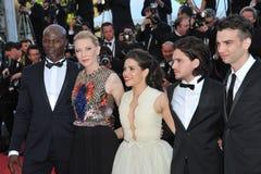 Cate Blanchett et America Ferrera et Djimon Hounsou et Kit Harington et Jay Baruchel Photos libres de droits