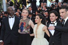 Cate Blanchett et America Ferrera et Djimon Hounsou et Kit Harington et Jay Baruchel Images libres de droits