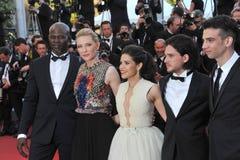 Cate Blanchett et America Ferrera et Djimon Hounsou et Kit Harington et Jay Baruchel Photos stock