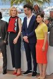 Cate Blanchett et Jay Baruchel et America Ferrera Photographie stock