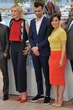 Cate Blanchett et Jay Baruchel et America Ferrera Images libres de droits