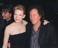 Cate Blanchett, Geoffrey Rush, regina, regina Elizabeth, regina Elizabeth \, attività, CATE BLANCHETTE immagine stock libera da diritti