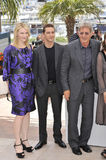 Cate Blanchett,Harrison Ford,Shia La Beouf Royalty Free Stock Photography
