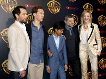 Cate Blanchett, Matthew Rhy, Benedict Cumberbatch, Rohan Chand και Andy Serkis Στοκ εικόνες με δικαίωμα ελεύθερης χρήσης
