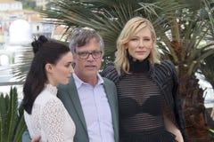 Cate Blanchett, Rooney Mara, Todd Haynes Stock Photo