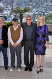 CATE BLANCHETTE,The Crystals,Cate Blanchett,Harrison Ford,Steven Spielberg Royalty Free Stock Images