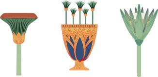 Cate et vase d'Egypte antique illustration libre de droits