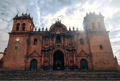 Catedra de cusco perú 免版税库存照片