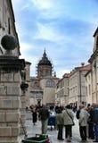 Catedrais de St Blaise e suposição, Dubrovnik Imagens de Stock
