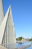 Catedral大教堂Menor诺萨三角建筑学细节  免版税库存图片
