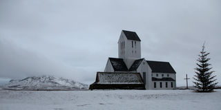 Catedral ártica Foto de Stock Royalty Free
