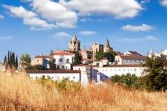 Catedral Évora, Portugal fotografia de stock