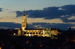 Catedral 05 de Toledo imagen de archivo