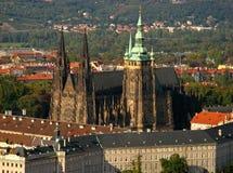 Catedral 09 del St. Vitus Imagenes de archivo