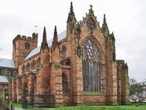 Catedral 3 de Carlisle Imagenes de archivo
