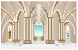 A catedral Imagens de Stock Royalty Free