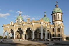 Catedral, Addis Ababa, Etiopía, África fotos de archivo