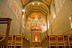 Catedral adentro Fotografía de archivo libre de regalías
