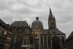 Catedral Alemania de Aquisgrán imágenes de archivo libres de regalías
