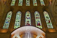 Catedral anglicana en Ripon, North Yorkshire. Foto de archivo
