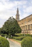 Catedral antiga de Gijon imagem de stock royalty free