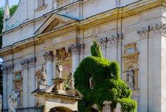 Catedral antiga em Krakow Foto de Stock