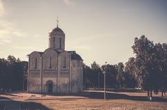 Catedral antigua rusa Imágenes de archivo libres de regalías