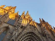 Catedral ao céu Imagens de Stock Royalty Free