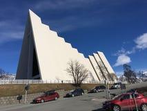 A catedral artctic Fotografia de Stock