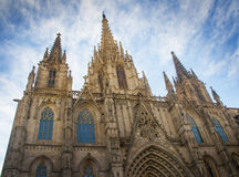 Catedral in Barcelona Stock Photography