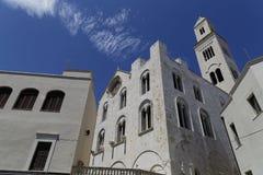 Catedral Bari Italia Foto de archivo libre de regalías