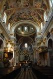 Catedral barroca imagen de archivo libre de regalías