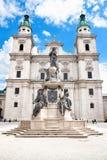 Catedral barroca de los Dom de Salzburg, Salzburg Fotografía de archivo