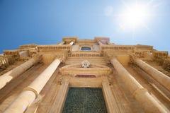 Catedral barroca de Noto Syracuse Imagen de archivo libre de regalías