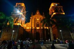 Catedral Basílica de São Lourenço, Santa Cruz, Bolívia. Stock Photos