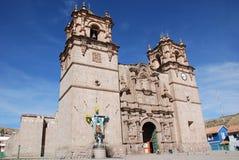 The Catedral Baselica San Carlos Borromeo Stock Photography