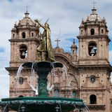 Catedral Basilica de la Virgen de la亚松森 免版税库存照片